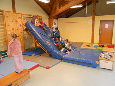 Evangelischer Kindergarten Stephanus - Turnhalle
